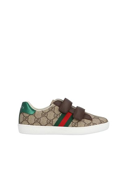Gucci - New Ace sneakers in beige