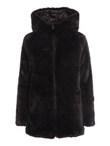 Save the duck - Animal free fur padded reversible coat