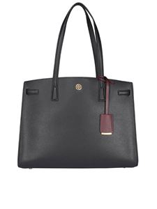 Tory Burch - Grainy leather tote