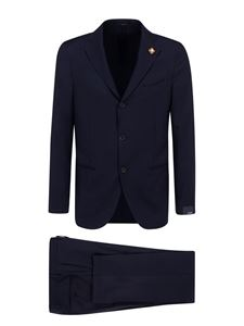 Lardini - Single-breasted cotton suit