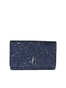 Jimmy Choo - Palace glittered cross body bag