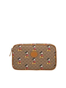 Gucci - Disney x Gucci belt bag in brown