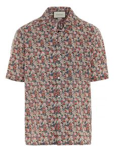 Gucci - Gucci Liberty floral print shirt multicolor