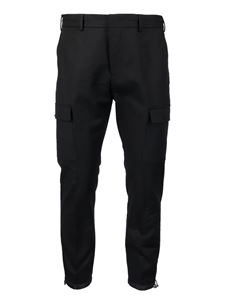 PT Torino - Cargo pockets detailed cotton pants
