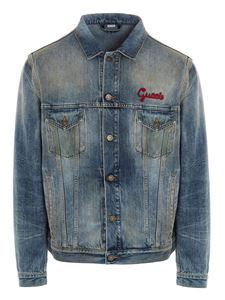 Gucci - Cat denim jacket in light bue