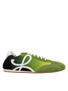 Loewe - Ballet Runner sneakers in green