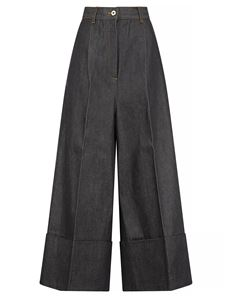 Loewe - Coulotte jeans in blue