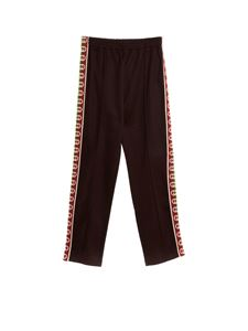 Gucci - Branded bands pants in black