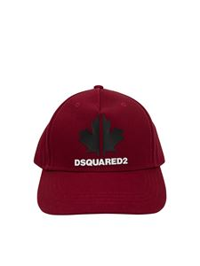 Dsquared2 - Logo print baseball hat in red