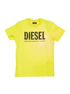 Diesel - Branded T-shirt in yellow