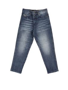 Diesel - Jeans in denim used blu