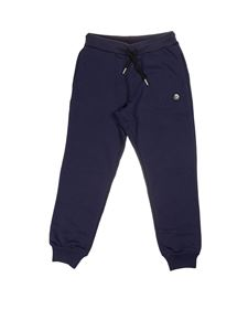 Diesel - Branded pants in blue