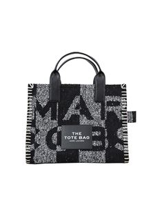 Marc Jacobs  - The Blanket Traveller bag in black and white