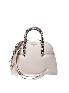 Michael Kors - Hudson handbag in sand color