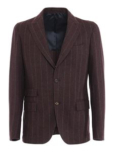 Eleventy - Brushed wool cashmere blend suit