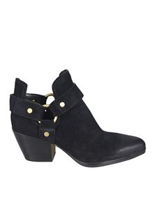 Michael Kors - Pamela suede booties with openings