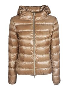 Herno - Semi glossy quilted padded jacket