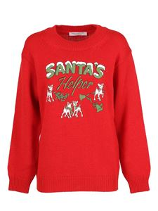 Philosophy di Lorenzo Serafini - Christmas jumper with contrasting print
