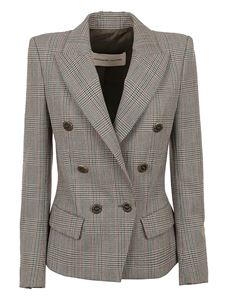 Alexandre Vauthier - Prince of Wales wool blazer