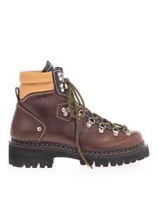 Dsquared2 - Lug sole ankle boots in brown