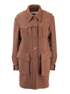 Chloé - Single-breasted jacket in Antique Brown