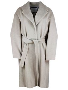 Fabiana Filippi - Dressing gown coat in Pine nut color