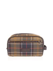 Barbour - Beauty case stampa tartan