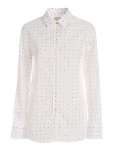 Paul Smith - All-over number print shirt in white