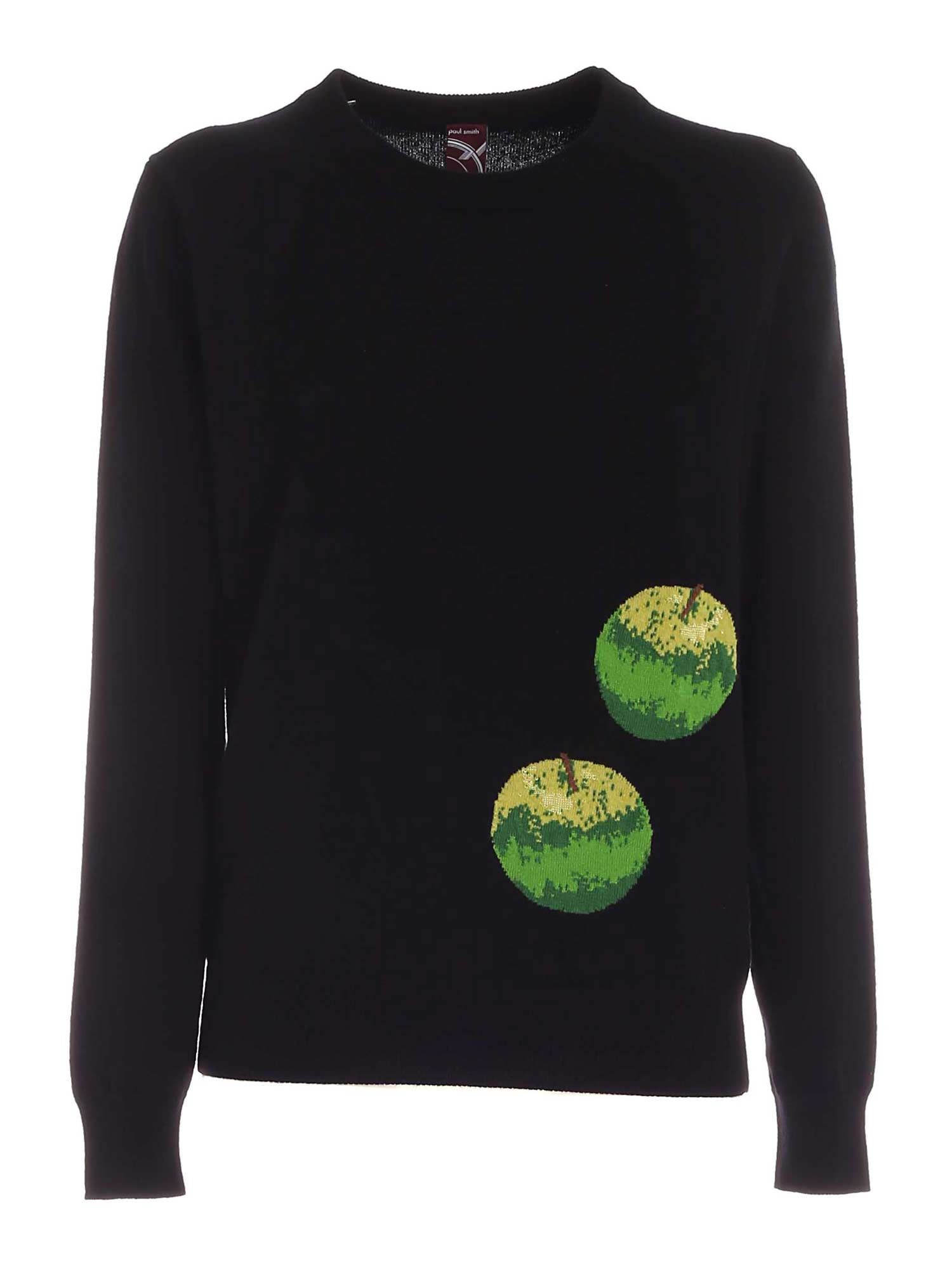 Paul Smith APPLE PULLOVER IN BLACK