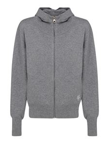 Chloé - Cashmere blend hoodie-style cardigan