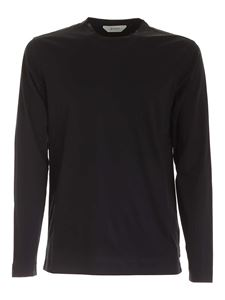 Z Zegna - Long sleeves T-shirt in black
