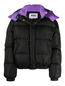 MSGM - Quilted tech fabric puffer jacket