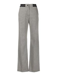 MSGM - Houndstooth patterned pants