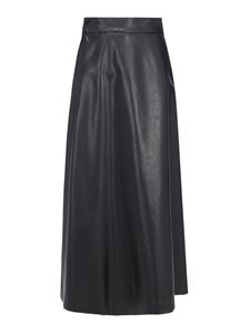 Ermanno Scervino - Faux leather skirt