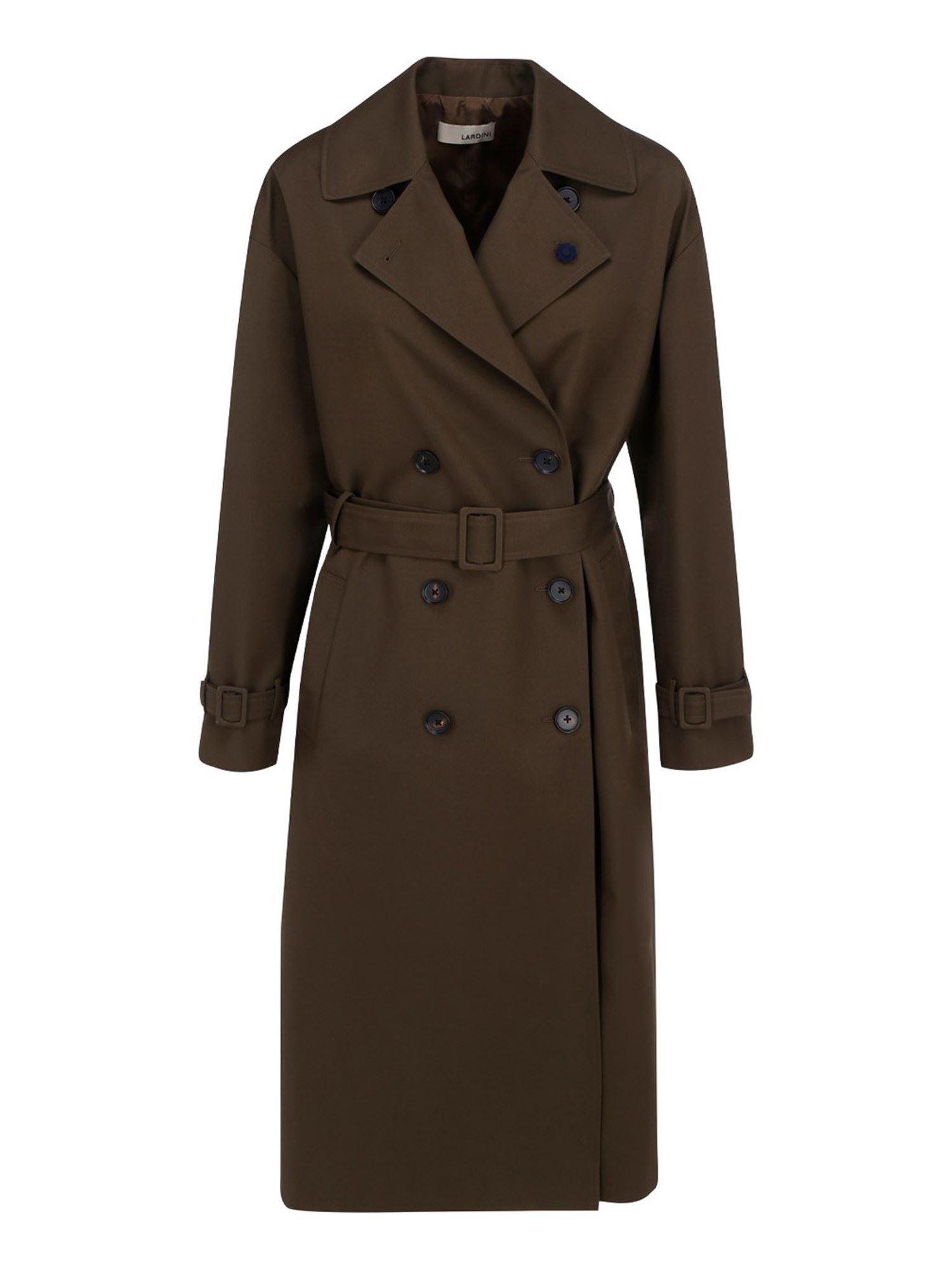 Lardini COTTON BLEND TRENCH COAT
