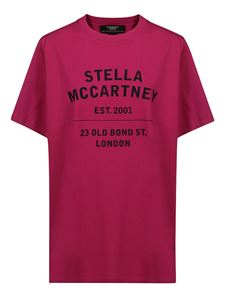 Stella McCartney - T-shirt over con stampa logo