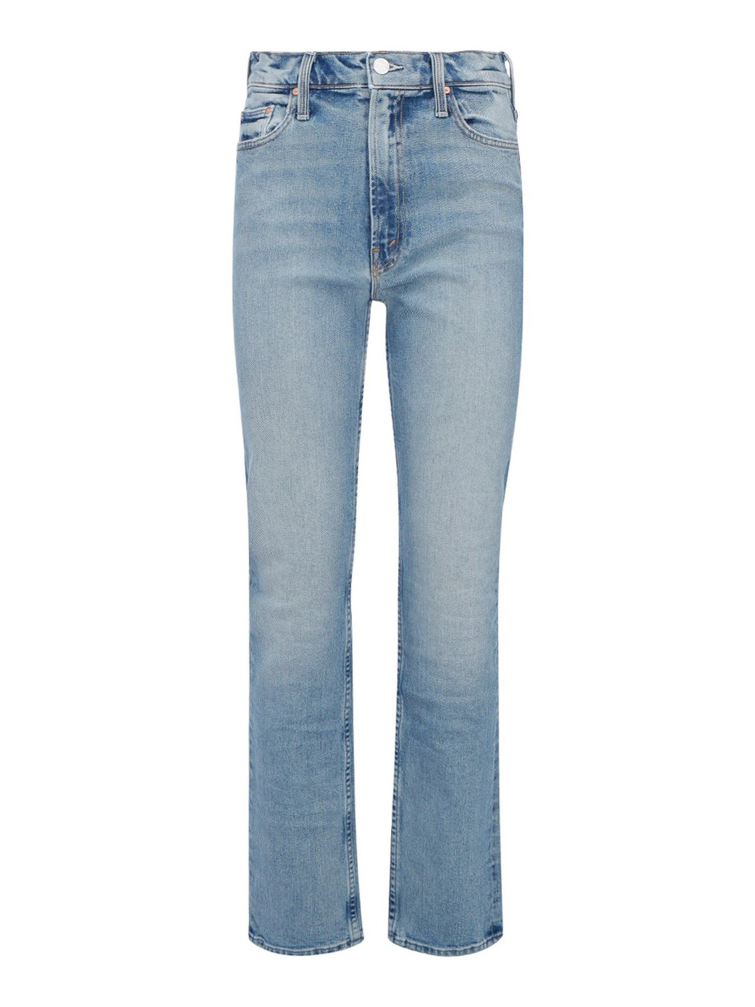 Mother LIGHT WASH DENIM JEANS