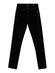 Saint Laurent - Cotton blend jeans