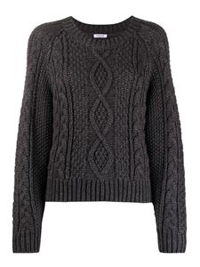 Parosh - Alpaca and mélange wool blend crew neck