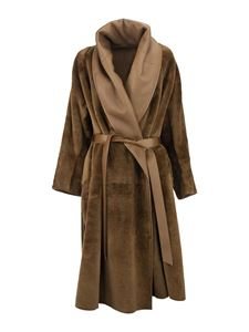 Max Mara - Folgore reversible sheepskin coat