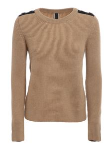 Hogan - Ribbed wool top
