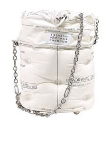 Maison Margiela - Slam Glam leather bucket bag