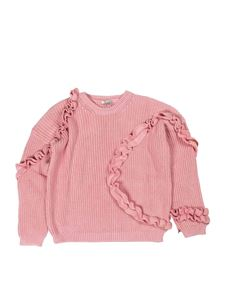 Il Gufo - Rouches pullover in pink