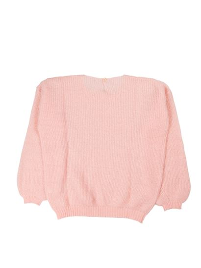 Il Gufo - Tricot effect pullover in pink