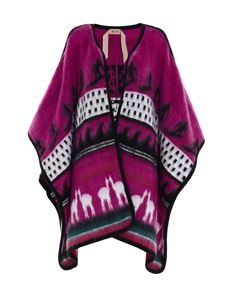 N° 21 - Jacquard decoration cape in pink