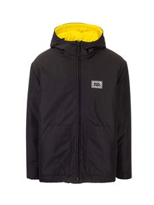 Golden Goose - Down jacket in black and yellow