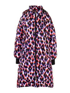 Golden Goose - Down jacket animal print in multicolor
