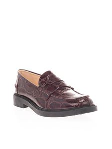 Tod's - Loafers in burgundy
