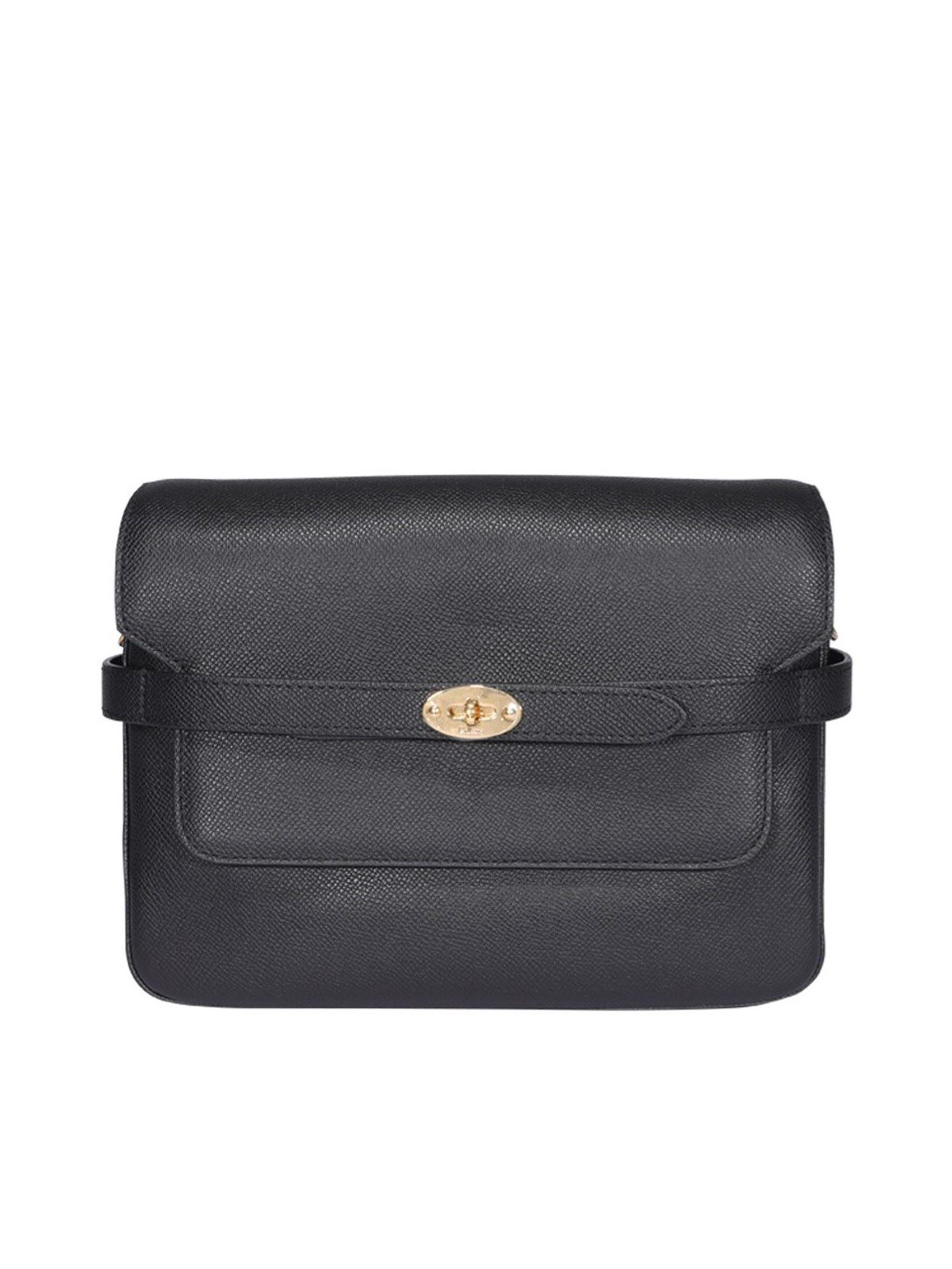 Mulberry BAYSWATER BLACK LEATHER CROSSBODY BAG