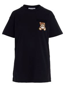 Moschino - Teddy Bear t-shirt dress in black